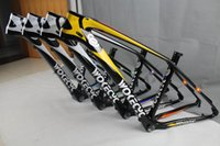 "Wholesale Carbon Mtb Bike Frame 17 - Wokecyc 27.5er UD mountain bike carbon fiber frame carbon 650B MTB bicycle frame+ headset+clamp Size 17"" bike parts Clear coat"