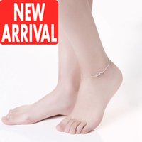 Wholesale Cheap Plastic Christmas Balls - Bracelet Anklet chain for women New Arrival Wholesale Discount Fashion Brands Designer Online Store With Cheap Price For Sale