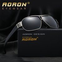 Wholesale Mens Black Aviators - Sunglasses for Men and Women Designer Brand Aviator Sun Glasses Mens Womens Vintage Luxury Polarized Lens Fashion Sunglass High Quality