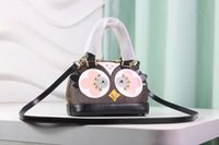 Wholesale Bird Leather Cross Bag - Free Shipping!2017 love birds all steel bag for women bb cross body bag Canvas edition hen bag M61708