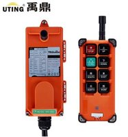 Wholesale Hoist Crane Radio Control - Wholesale- Telecontrol uting F21-E1B 8 buttons 1 speed indsutrial radio remote control for overhead crane hoist