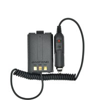Battery Eliminator Chargeur voiture pour radio portable UV 5R UV-5RB UV-5RA Two Way radio Walkie Talkie Accessoires