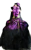 vocaloid miku cosplay vestido al por mayor-Vocaloid de Kukucos Hatsune Miku Megurine Luka Vestido de fiesta de Halloween Disfraz de Cosplay