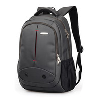 Wholesale Students Bags Woman Laptop - Business Men's Work Backpack College Student Campus Backpack Escolar Mochila Quality Brand Laptop Bag Schoolbag B027