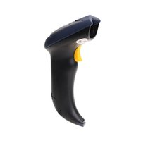 bit tarama toptan satış-Freeshipping Otomatik USB Lazer Tarama Barkod Tarayıcı Barkod Okuyucu El P4PM