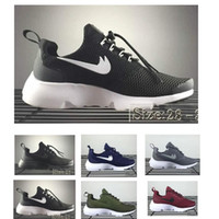 Wholesale kid leather price - Mesh And Hollow Air Presto Running for kids white black red blue lightweight children's sneaker boy and girl wholesale prices SIZE 28-35