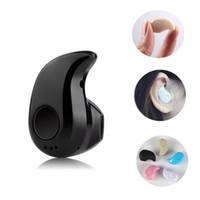 plugue de orelha móvel venda por atacado-Universal S530 Mini sem fio Bluetooth 4.0 fone de ouvido estéreo Esporte Headphones Furtivo Headset intra-auriculares com microfone e caixa de Varejo