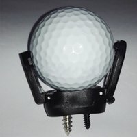 Wholesale Mini Putter - Wholesale- New Mini Rubber Golf Ball Pick Up Putter Grip Retriever Tool Suction Cup Pickup Screw Golf training Aids Black