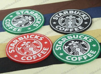 Wholesale Mermaid Cups - 2017 NEW Table decoration Starbucks logo Mermaid silicone coaster round platemat mugs coffee cup mat pad black red green MYY