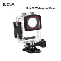 Wholesale Mask For Underwater - Wholesale- Original SJCAM M20 Case Underwater Waterproof Dive Housing Case For SJM20 Sport Camera