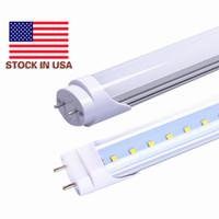 Wholesale T8 9w - CE DLC UL T8 LED Tubes 2ft 9W 12W 1200LM SMD 2835 Light Lamp Bulb 2feet 0.6m 600mm 85-265V led lighting