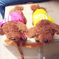Wholesale Twisting Ass - Poodle Robot Dog Children Electric Dog Toys Can Sing Music And Twist Its Ass Rope For Intelligent Remote Control Toy