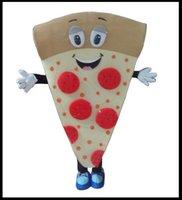 Wholesale Fancy Dress Materials - Pizza mascot Material Helmet hot sale Fancy Dress Cartoon Mascot Costume Carnival Costume Fancy Costume