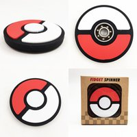 Wholesale Science Sale - 2017 newest Poke ball style Fidget Spinner rolling Fingertip EDC adult decompression toys hot sales Hand spinners toy free shipping