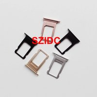 Wholesale ems sim card resale online - Free DHL EMS Original New Nano Sim Card Tray Slot Holder Replacement Parts For iPhone Plus Replacement Parts