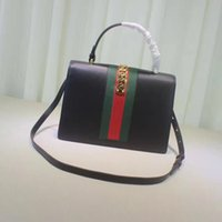 Wholesale European Women Designer Dresses - Original Quality Dress Style LUXURY Genuine Leather Women Shoulder Bag Brand Designer Cowhide genuine leather handbags Women