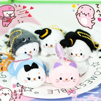 "Wholesale Wholesale Mother Garden - EMS New 5 Styles 3""*2"" 8CM*5CM Mother Garden Sirotan Tata Kawaii Seal Stuffed Doll Wedding Bouquet Plush Keychains Toys"