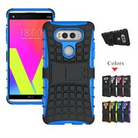 Wholesale Google Robots - Armor Case For Google Pixel XL For LG V20 Shockproof Hybrid Robot W4100 W2100 Robot Cover Dual Layer Heavy Duty Rugged Defender Skin