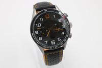 Wholesale Mp4 Sports Watch - Wholesale Automatic Men Mechanical Watch Transparent Swiss Brand Calibre Cal 1887 Mclaren MP4-12C Fashion Casual Leather Sport Man watches