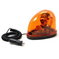 Wholesale Free Emergency Strobe Lights - Amber 12V Halogen Bulb Emergency Strobe Beacon Warning Flash Light Magnet Mount Free Shipping