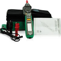 ingrosso penna conta-Freeshipping Auto Range Pen-type Multimetro Digitale 2000 Conta Tensione Corrente AC / DC Tester Ohm Con Funzione Diodo NCV