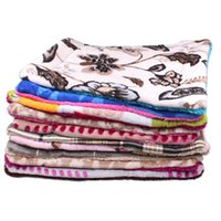 4 Packs Dog Blanket Fleece Pet Colorful Blanket Dog Cama de gato Big Dogs Leopard Print Cat Mat Soft Cushion Warm Quilt