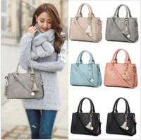 Wholesale Satchel Hobo Bags - Women's Leather Handbag Shoulder Hobo Crossbody Bag Tote Messenger Satchel Purse