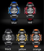 Wholesale Alarm Watch Water - Fashion Children Watch Boys Girls LED Digital Electronic Wrist Watch Kids Luminous Alarm Clock Calendar Water-resistant Watches