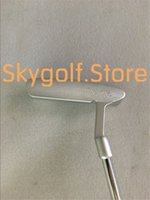 Wholesale Golf Clubs Left Hand - 1pc Left handed SC Newport2 Golf Putter With 33 34 35inch Steel Shaft good quality golf club putters new