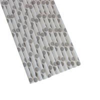 papel descartável venda por atacado-90 pcs descartável food grade colorido polka dot papel canudos para crianças e adultos beber