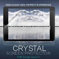 ipad clear schirmabdeckungen großhandel-Großhandels- 10pcs / lot für Google Nexus 9 Bildschirmschutzabdeckung, hoher freier Schirmschutz für google nexus 9 8.9