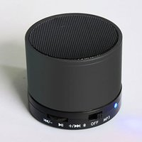 Wholesale Micro Mini Usb Bluetooth - S10 Portable mini bluetooth Wireless Speakers Hi Fi Music Player FM audio receiver Micro SD TF Mic USB Earphone Port