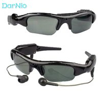 Wholesale video sunglasses for sale - diaital wireless MP3 mini Camera camcorder video Sunglasses for motor with Polaroid Lens for driving riding and fishing