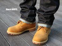 Wholesale Grain Wheat - 2016 HOT Fashion Classic 10061 Wheat Yellow TBL Boots Women Mens Retro Waterproof Outdoor Work Sports Shoes Size 36-44