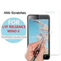 Wholesale iphone 4s sales for sale – best Tempered Glass Film For LYF Wind S LYF Earth India Hot Sale Cell Phone Temper Glass Screen Protector