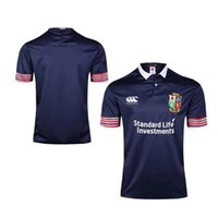 caldo irlandese Rugby Jersey irlandese Lions euro rugby Jersey casa rosso palla bianca palla Blu rugby camicie dimensioni S - 3XL