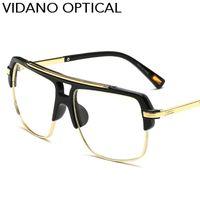 Wholesale Street Frame - Vidano Optical New Arrival Big Smart Square Sunglasses For Men & Women Fashion Sun Glasses Street Casual Brand Design Eyewear UV400