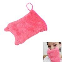 Wholesale Microfiber Facial - Reusable Orecchiette Microfiber Facial Cloth Face Towel Makeup Remover Cleansing Glove Tool
