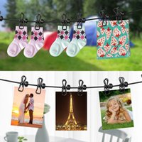 Wholesale Hanging Clothesline - Portable Elastic Travel Clothesline with 12pcs Clothespins Travel Gadgets for Outdoor and Indoor Use for wedding dress hanging