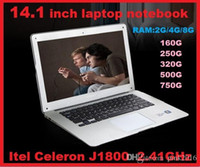 "Wholesale Cheap Windows Tablets - DHL CHEAP LOW HOT 14"" 14 inch Dual Core laptop tablet pc 4G DDR3 500G Win7 Book j1800 j1900 Notebook Computer PC ultrabook laptops"