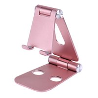 Wholesale Nintendo Iphone - New Phone Holder Foldable Universal Mobile Phone Stand Adjustable Desktop Tablet Stand for iphone 8x 5s S8 iPad Nintendo Switch