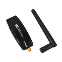 Wholesale Newest Mbps USB Wireless WiFi Adapter WiFi Network Lan Card External Antenna Networking Accessories Hot Sale