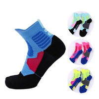 Wholesale Winter Socks Men S - Men 's basketball socks breathable non - slip socks thickening with terry sweat shampoo leisure sports clothing 1501