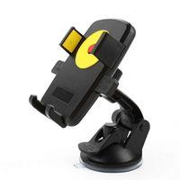 держатели для чашек держатели gps оптовых-Автомобильный телефон держатель лобовое стекло кронштейн присоски держатель для мобильного телефона GPS MP4 Suporte Celular Carro Soporte Movil Carro