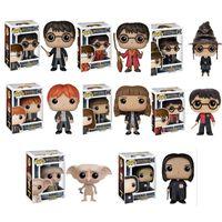 Wholesale Dolls Harry Potter - Funko pop01#Harry Potter professor Snape Hermione, Ron doll dobby, model ornaments wholesale 8 optional styles free shipping