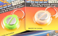 Wholesale Hand Buzzers Shock - High quality Hot Best Electric Shock Hand Buzzer Practical Joke Gag Halloween Christmas Gift Prank Toys 48pcs