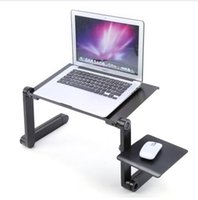 Wholesale Standing Laptop Tray - Factory direct new products hot sale quality wholesale 360 Degree Foldable Adjustable Laptop Desk Computer Table Stand Desk Bed Tray