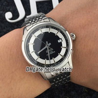 Wholesale gents bracelets - 7 Color Brand New Japan NH36 Co.Axial Black Dial Automatic 431.30.41.21.01.001 Mens Watch Stainless Steel Bracelet Luxury Gents Watches