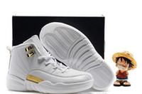 Wholesale Gold Horizon - 2017 New Basketball shoes Kids Childrens J12s High Quality Sports shoes Air Retro 12 Horizon 12s Youth Boys Girls Basketball Sneakers