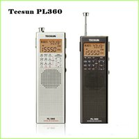 Wholesale sw pack for sale - Group buy Tecsun PL portable radio usb digital AM FM pocket radio recorder Shortwave PLL DSP ETM SW MW LW Receiver pl